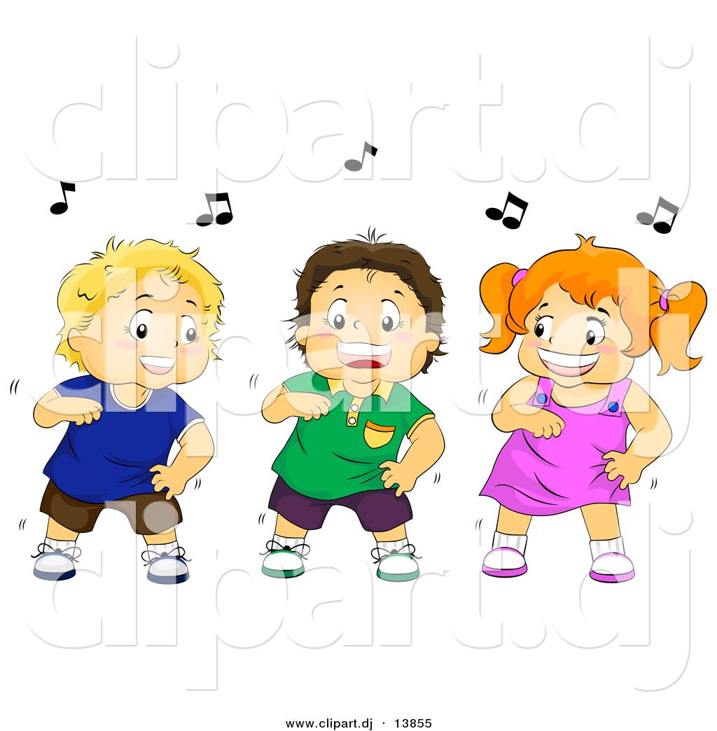 Group Dance Cartoon Dance Cartoon Clip Art