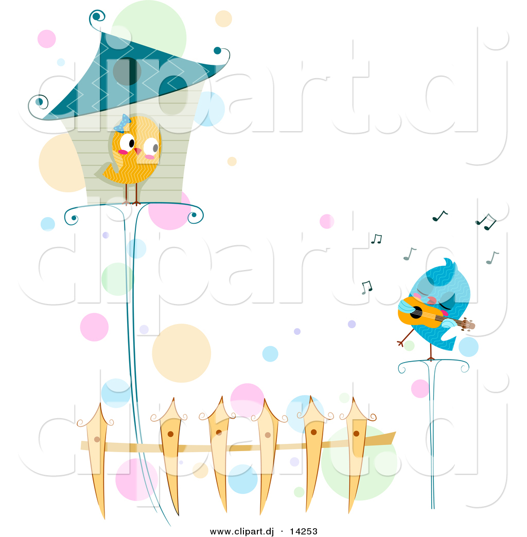 Love Bird Pictures Cartoon Cartoon Love Bird Singing