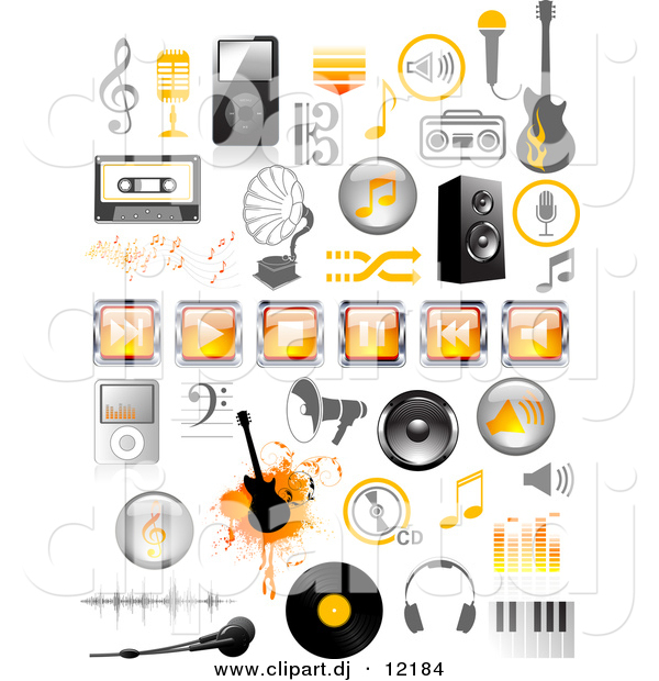 Royalty Free Music Clipart