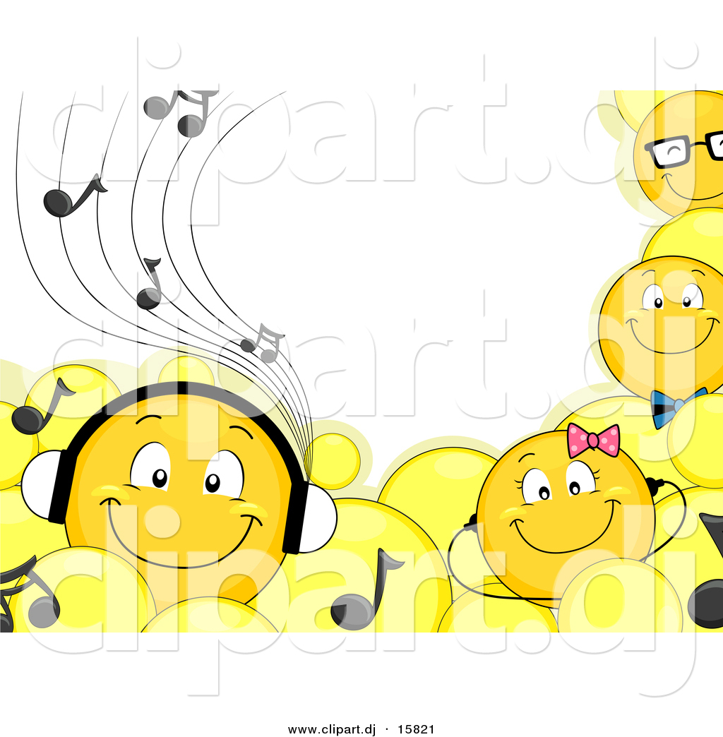 cartoon vector clipart of smiling emoticons wearing smiling faces clipart images smiling faces clipart images
