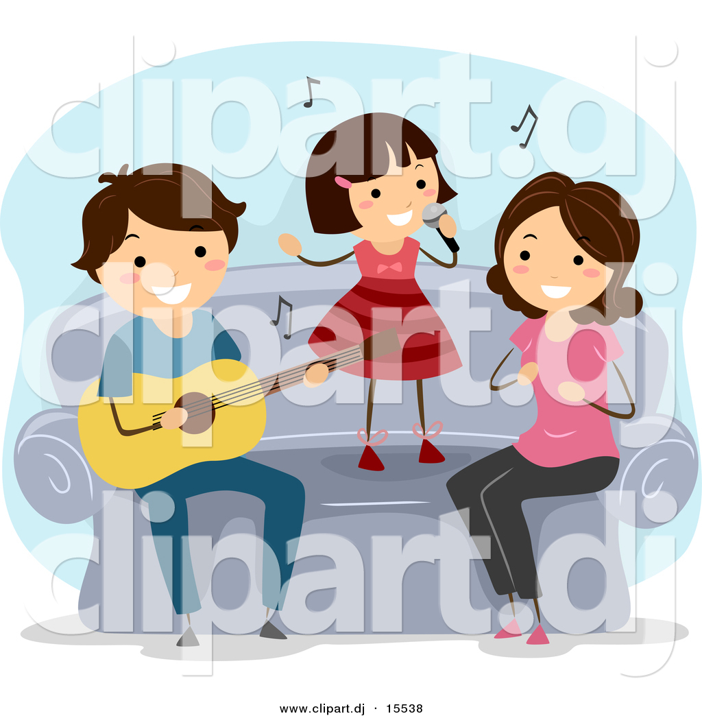 Family Playing Together Clipart Vector Clipart ...